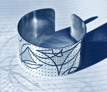 Fiber Laser engraving Silver