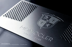 Metal Business cards Perforated