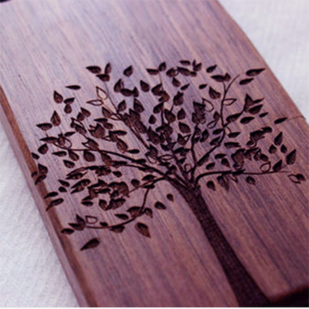 Solid Wood Deep Laser Engrave