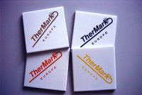 Ceramic. Co2 Laser Mark. Tile.