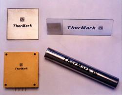 Laser marking on Metals samples