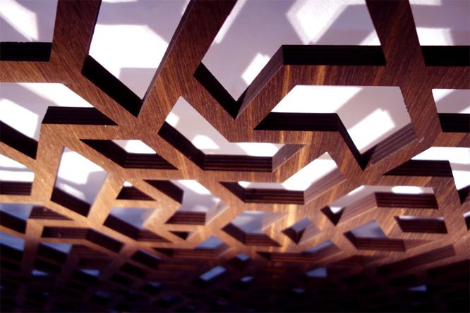 Plywood. Laser Cut. Panel.