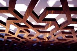 Plywood Laser cut sample Panel