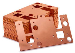 copper. Laser Cut. Parts