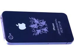 Aluminum Laser Engrave iPhone.