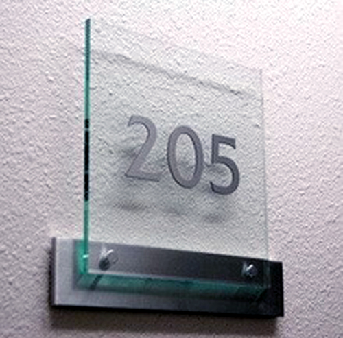 Architectural Sign Metal Laser Cut