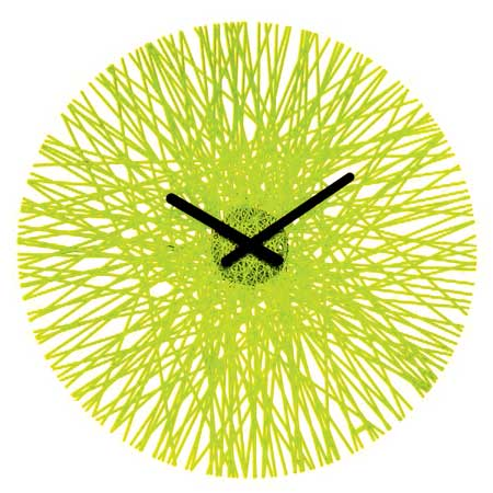 Plastic Acrylic Laser Cut Clock