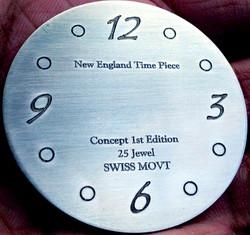 Metal Watch Engraving