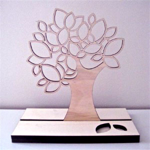 Laser Cut Metal. Jewelry Stand.
