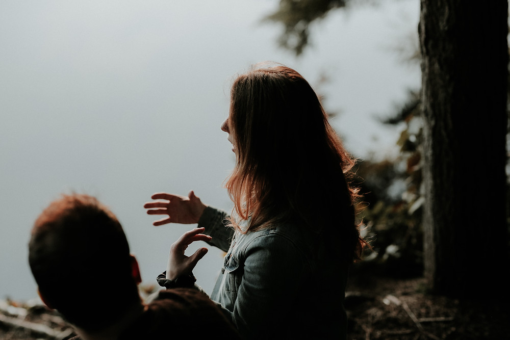 Man and woman engage in individual therapy. Catalyss Counseling provides individual and group therapy in Colorado through online therapy and in person counseling in the Denver area 80209 and 80210