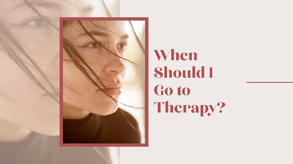 Woman thinking and wondering if she should start going to therapy or counseling for anxiety, depression, caregiver stress, trauma, or grief in Englewood CO. Find counseling treatment for a variety of issues in Denver at Catalyss Counseling 80209 and 80210