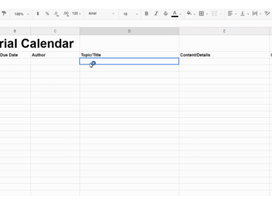How to Create and Manage your Editorial Calendar