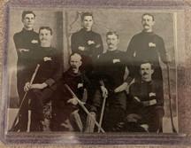 Rod Flett (Metis) with the Winnipeg Victorias