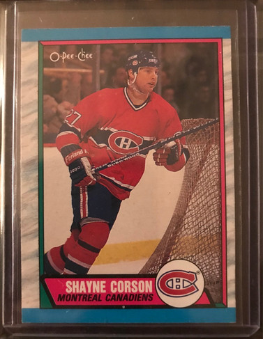 Shayne Corson (Mixed Heritage)