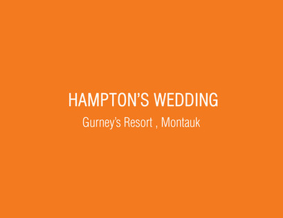 Hampton's Wedding
