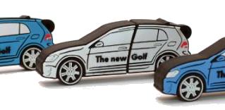 폭스바겐 골프 자동차 USB