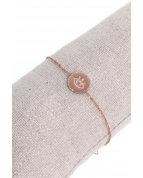 bracelet rond yeux or rose