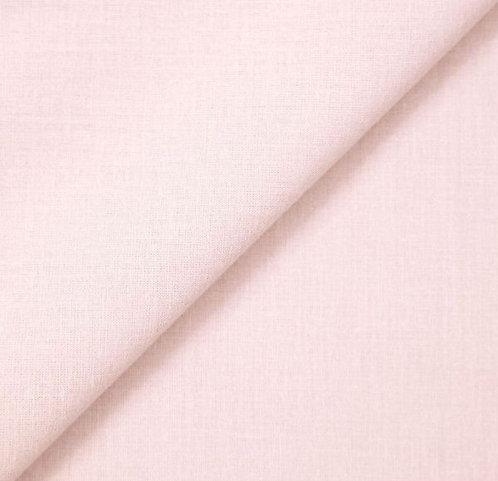 Foulard voile de coton rose pale