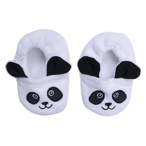 Chaussons velours Petit Panda
