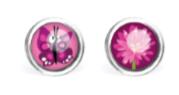 B.O. Les Minis® Acier Chirurgical - Papillon / Fleur