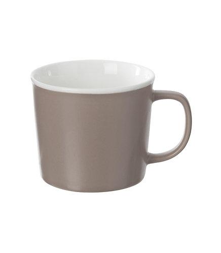 Mug en porcelaine Nature Taupe 38 cl