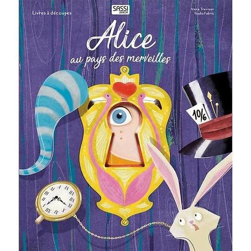 Livre découpes Alice aux payes des merveilles