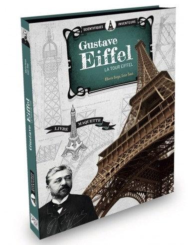 Coffret Livre + construction -Maquette La tour Eiffel