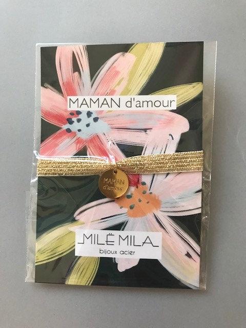 bracelet Thème MAMAN D'amour