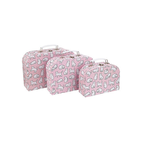 Cutie Cat Suitcases - MM