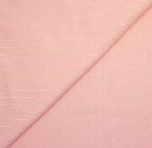 Foulard viscose lurex rose