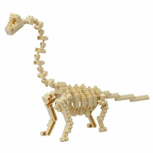 Brachiosaurus skeleton // Mini Series NANOBLOCK