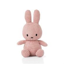Miffy - Lapin velours cotelé rose