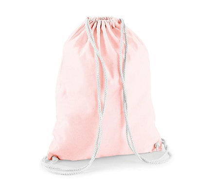 Sac de Gym en Coton ROSE