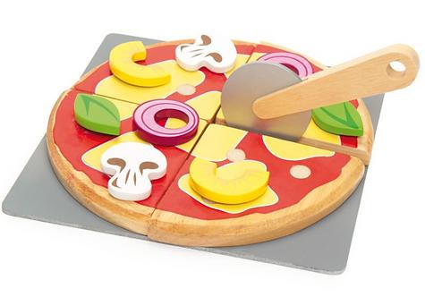Pizza party en bois