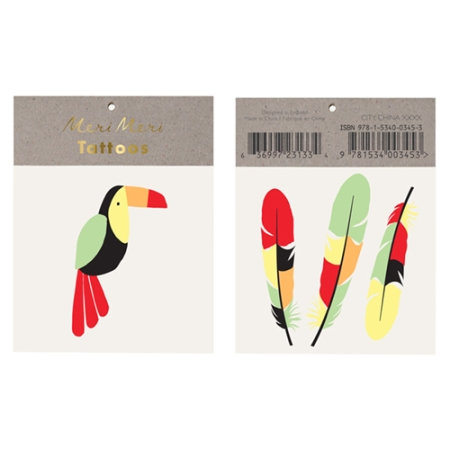 tatouage toucan