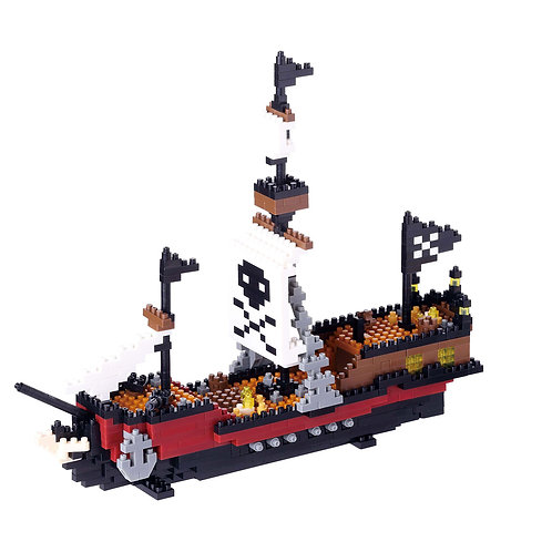 Pirate Ship // Advanced Series NANOBLOCK