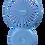 Thumbnail: Mini ventilateur Cool BLEU