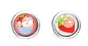 B.O. Les Minis® Acier Chirurgical - Cupcake / Fraise