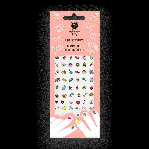 Stickers pour ongles enfant - Magic Nails