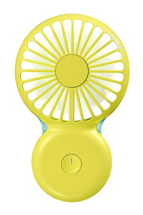 Mini ventilateur Cool JAUNE