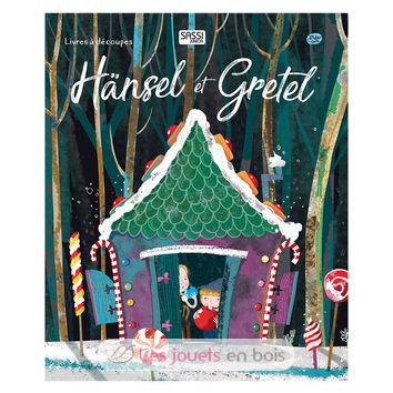 Livre découpé dentelle-Hansel et Gretel