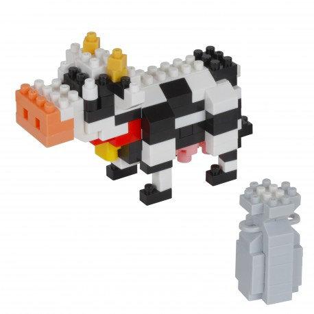 Vache et son bidon de lait// Mini series NANOBLOCK