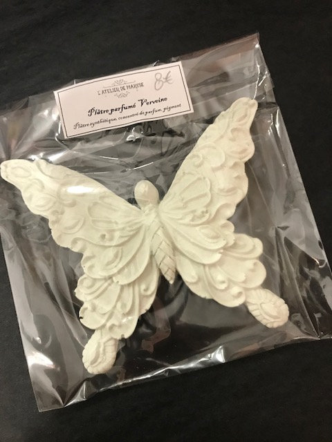 Déco  So Chic Papillon Intemporelle Parfum VERVEINE CITRON
