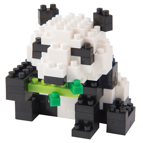 Giant Panda 2 // Mini series NANOBLOCK