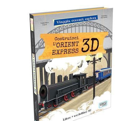 3D - CONSTRUIS L'ORIENT EXPRESS