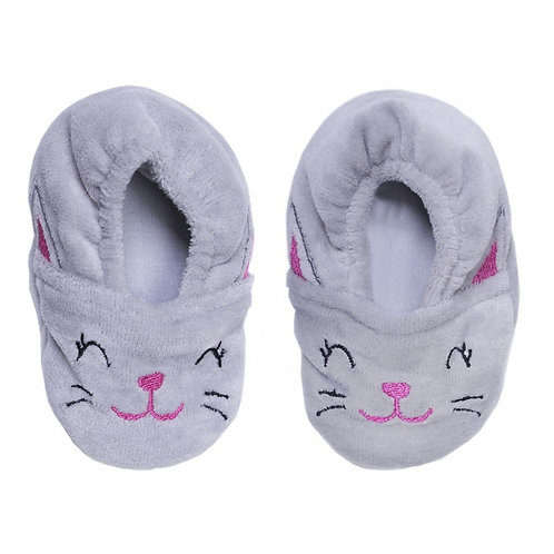 Chaussons velours Petit Chat
