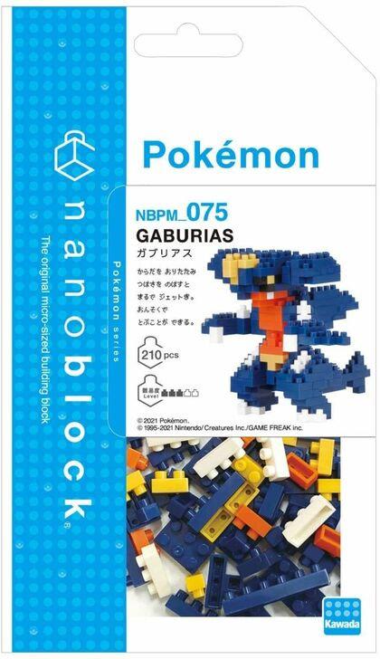 Pokemon Garchomp     // Mini series NANOBLOCK