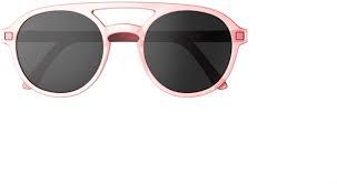 KI ET LA Piloto T5 Montures de lunettes, Rose (Rosa), 4 Mixte bébé