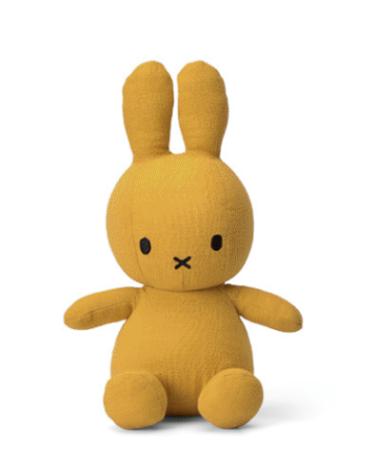 Miffy - Lapin en mousseline moutarde