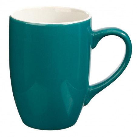 Mug Rond en Faïence coloris Bleu 31 cl